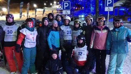 В Полярных Зорях прошёл Турнир по горнолыжному спорту на призы директора Кольской АЭС